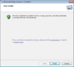 Microsoft Safety Scanner windows